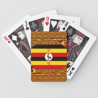 Beautiful amazing Hakuna Matata Lovely Uganda Colo Poker Deck