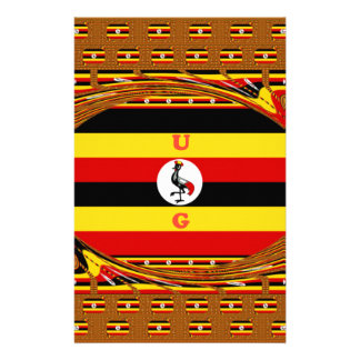 Beautiful amazing Hakuna Matata Lovely Uganda Colo Stationery