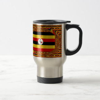 Beautiful amazing Hakuna Matata Lovely Uganda Colo Travel Mug