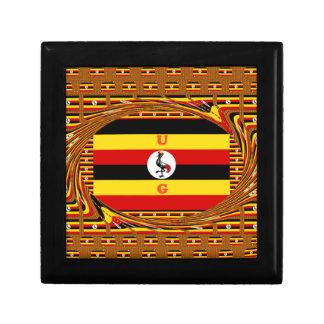 Beautiful amazing Hakuna Matata Lovely Uganda Colo Trinket Box