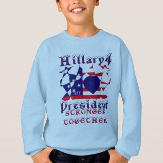 Beautiful amazing I love Hillary for USA President Sweatshirt