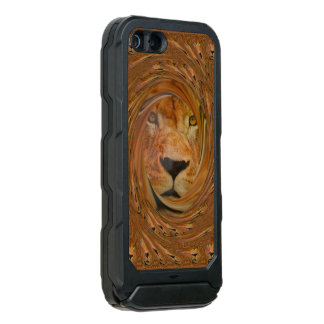 Beautiful Amazing Male lion pop art pattern design Incipio ATLAS ID™ iPhone 5 Case