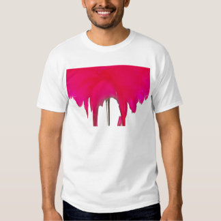 Beautiful amazing Red rose under the white sky T Shirt