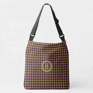 Beautiful amazing size 8 water colors logo design crossbody bag