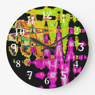 Beautiful Amazing  water colors pattern Clocks
