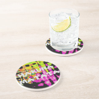 Beautiful Amazing  water colors pattern Drink Coasters