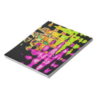Beautiful Amazing  water colors pattern Notepad