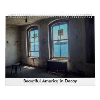 Beautiful America in Decay Calendar