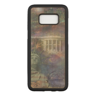 Beautiful America - Land of the Free Carved Samsung Galaxy S8 Case