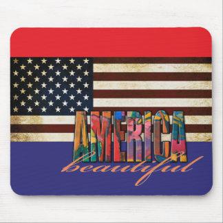Beautiful America Mouse Pad