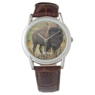 Beautiful  American Buffalo Watch