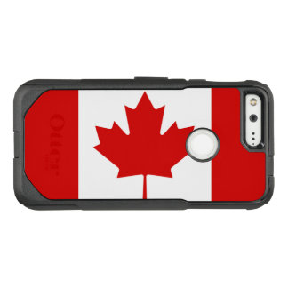 Beautiful and Classic Patriotic Flag of Canada OtterBox Commuter Google Pixel Case