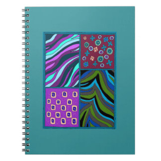 Beautiful and Colorful Tropical Notebook