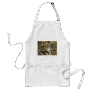 Beautiful and Smiling Tiger Standard Apron