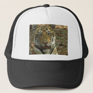 Beautiful and Smiling Tiger Trucker Hat