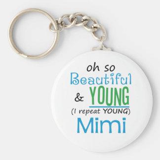 Beautiful and Young Mimi Keychain