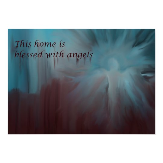 Beautiful Angel Poster, Guardian Angel for Home Poster