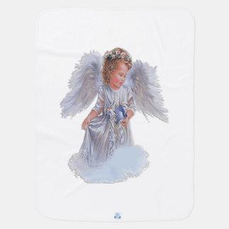 Beautiful-Angel Receiving Blankets