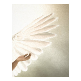 Beautiful Angel Wings Gift & Promotional Products Letterhead