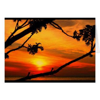 Beautiful Anniversary From Sunrise To Sunset Card