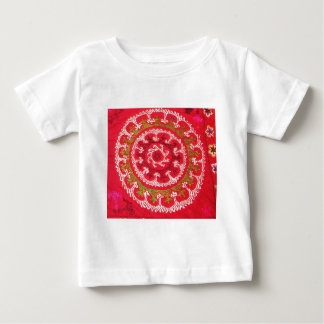 Beautiful Antique Turkish Kilim circa 1750 Baby T-Shirt