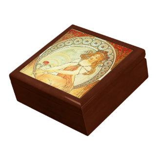Beautiful Art Nouveau Jewellery Box
