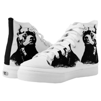 BEAUTIFUL AS A PIT BULL AND JUST AS TOUGH! HIGH TOPS