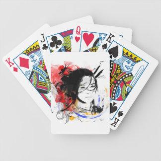 Beautiful Asian Girl Poker Deck