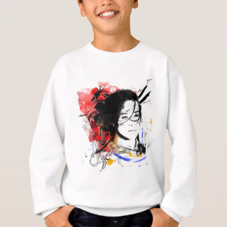 Beautiful Asian Girl Sweatshirt