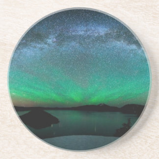 Beautiful Aurora Borealis / northern lights Drink Coasters