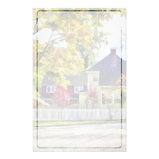 Beautiful Autumn Afternoon Stationery