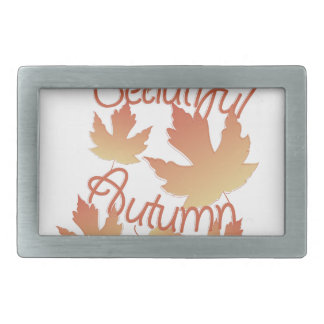 Beautiful Autumn Belt Buckle