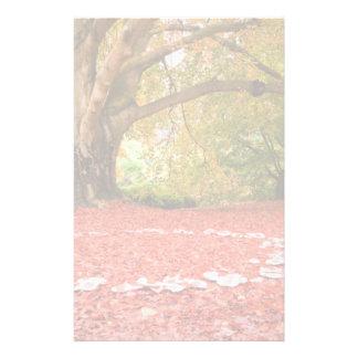 Beautiful Autumn Fall Nature Fairy Ring Personalized Stationery