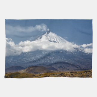 Beautiful autumn mountain landscape towel