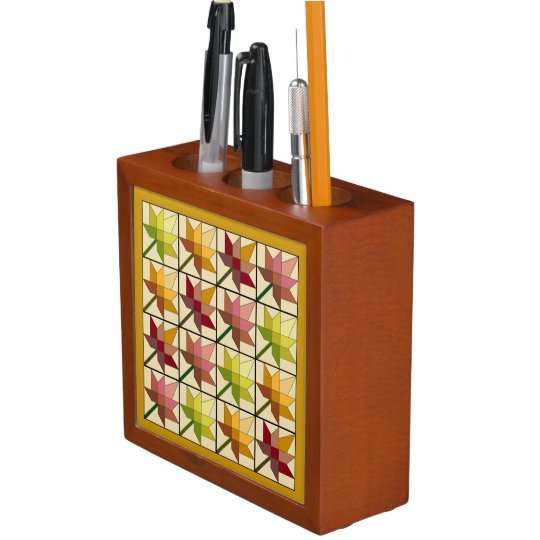 Beautiful Autumn Splendour Desk Organizer
