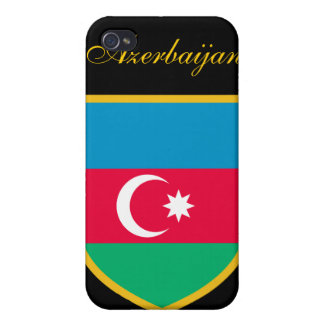 Beautiful Azerbaijan Flag iPhone 4/4S Cases