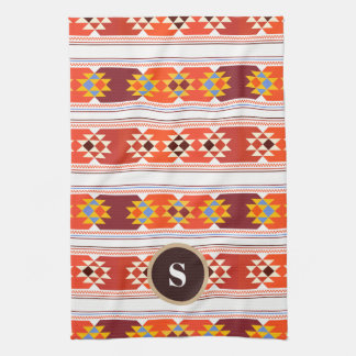 Beautiful Aztec Art Kitchen Towel