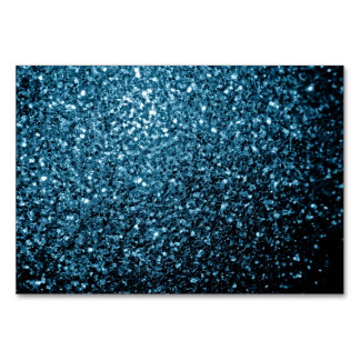 Beautiful Baby blue glitter sparkles Card