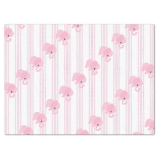 Beautiful Baby Girl Pink Elephant Tissue Paper
