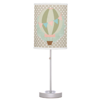 Beautiful Baby or Child Room Hot Air Balloon Table Lamp