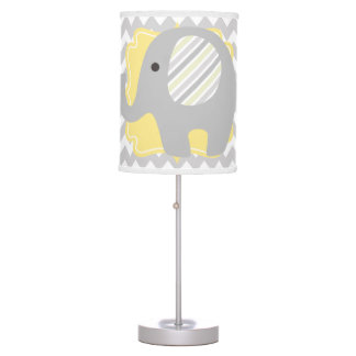 Beautiful Baby or Child Room Neutral Elephant Table Lamp