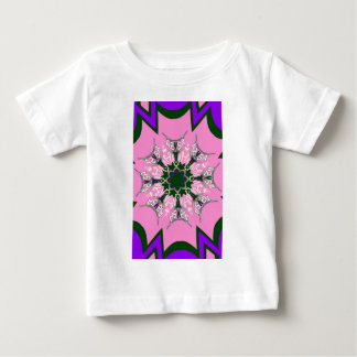 Beautiful baby pink purple shade motif monogram de baby T-Shirt