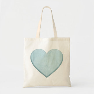 Beautiful Baby Shower Blue Heart Gift Tote Bag