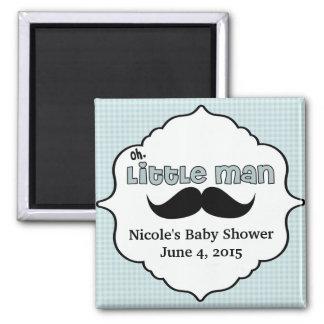 Beautiful Baby Shower Little Man Mustache Magnet