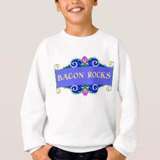Beautiful Bacon!  Bacon Rocks! Sweatshirt