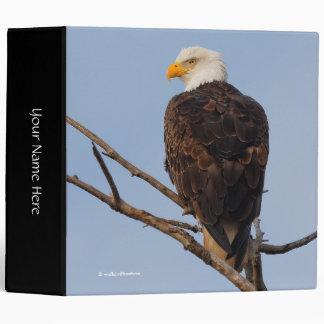 Beautiful Bald Eagle in a Tree Binder