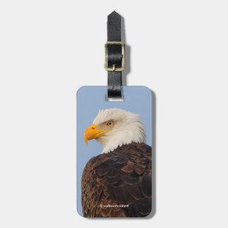 Beautiful Bald Eagle in a Tree Luggage Tag