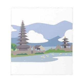 Beautiful Bali Notepad