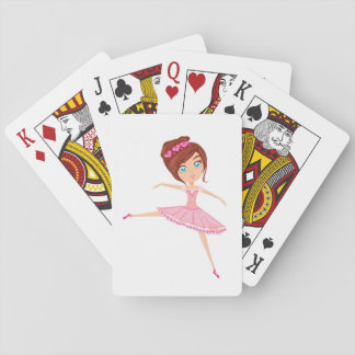 Beautiful ballerina Classic Playing Cards