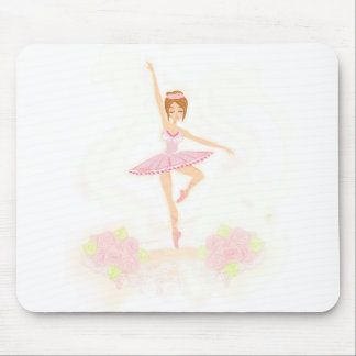 Beautiful ballerina Mouse pad